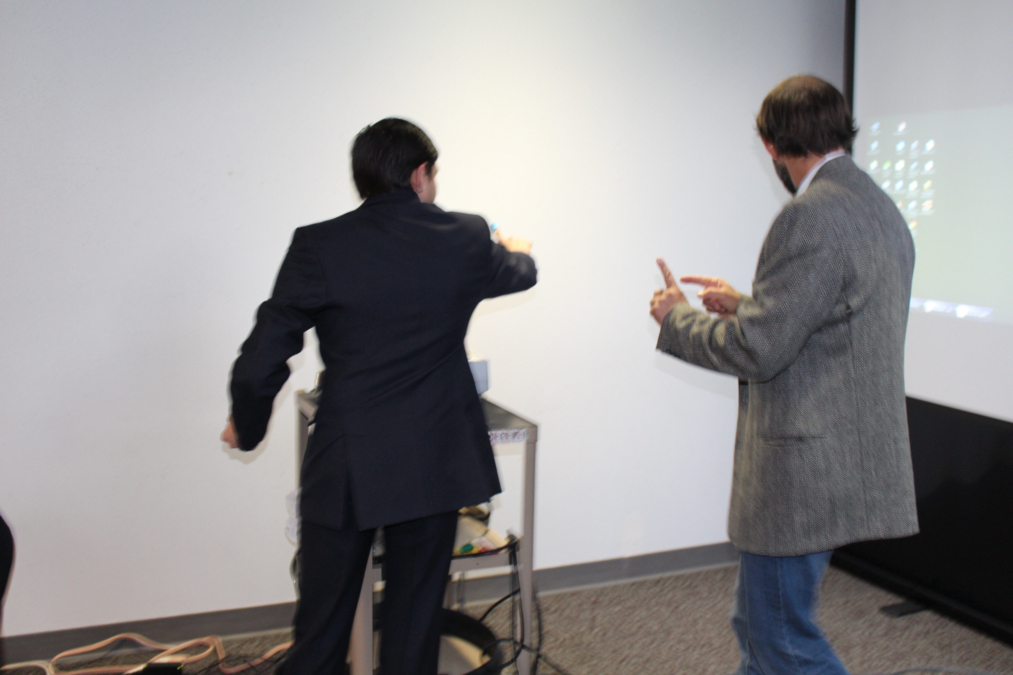 Gesture Recognition Technology Demo