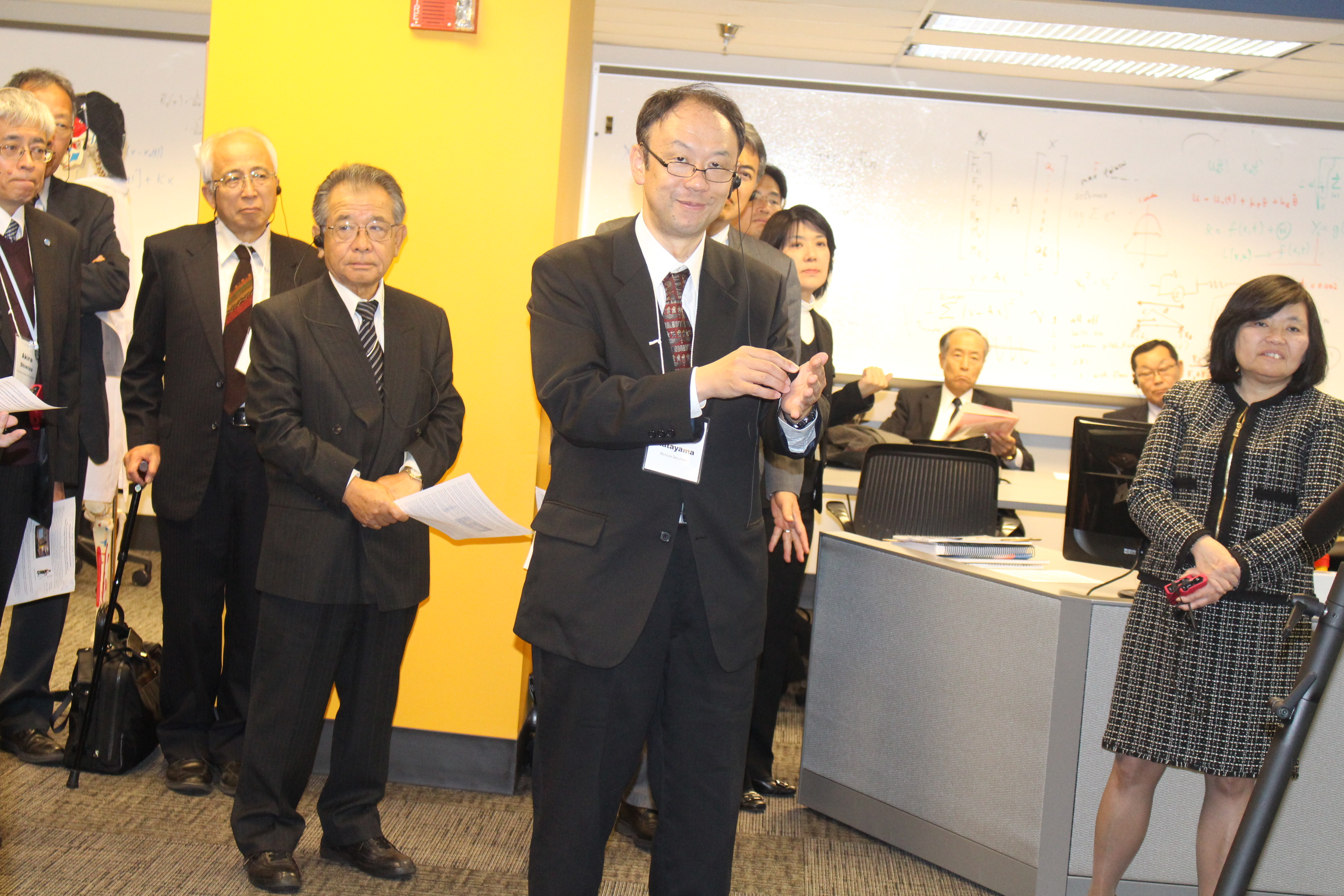 Japanese Delegation in Human Motion and Control Lab