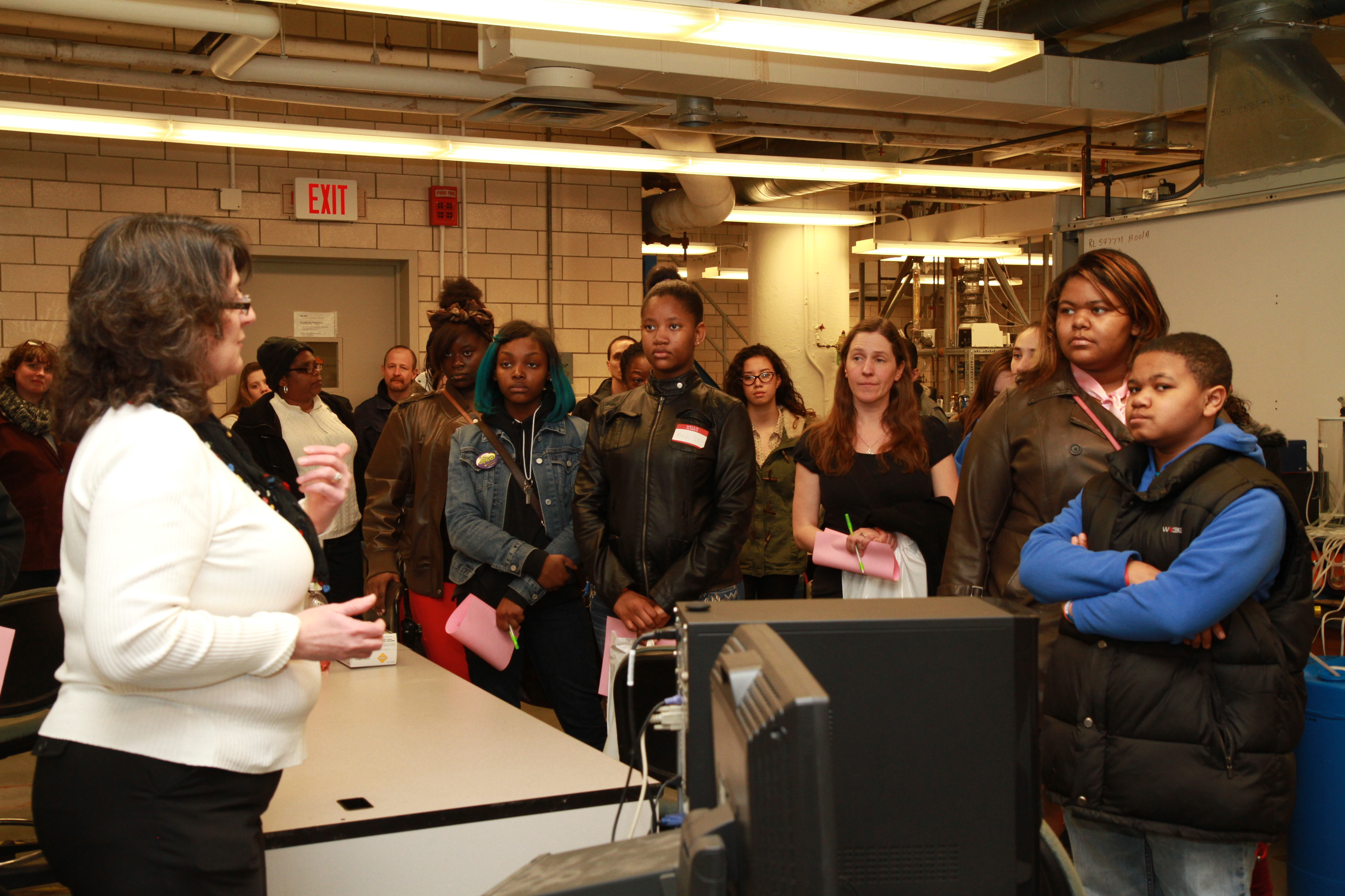 Chemical Engineering Lab Tour