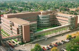 Overhead View of Cleveland Clinic's Lerner Research Institute