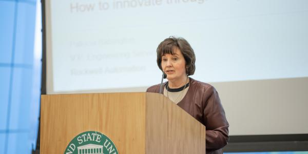 Patricia Babington, Vice President of Engineering Services, Operations and Engineering Services at Rockwell Automation