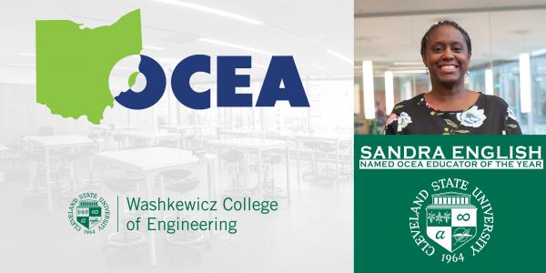 Sandra English Receives OCEA Award