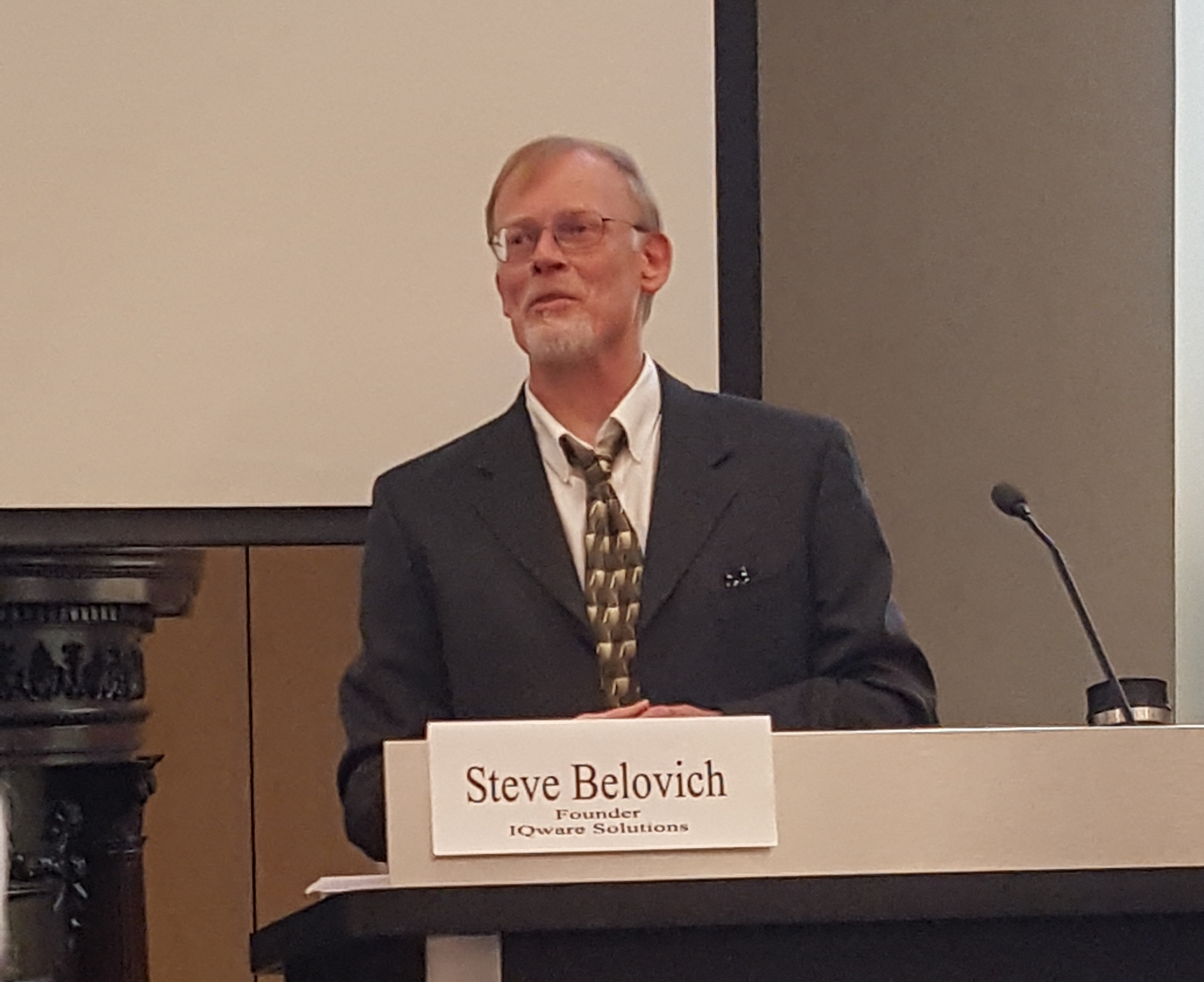 Dr. Steve Belovich at Cyber Terrorism Town Hall at CSU
