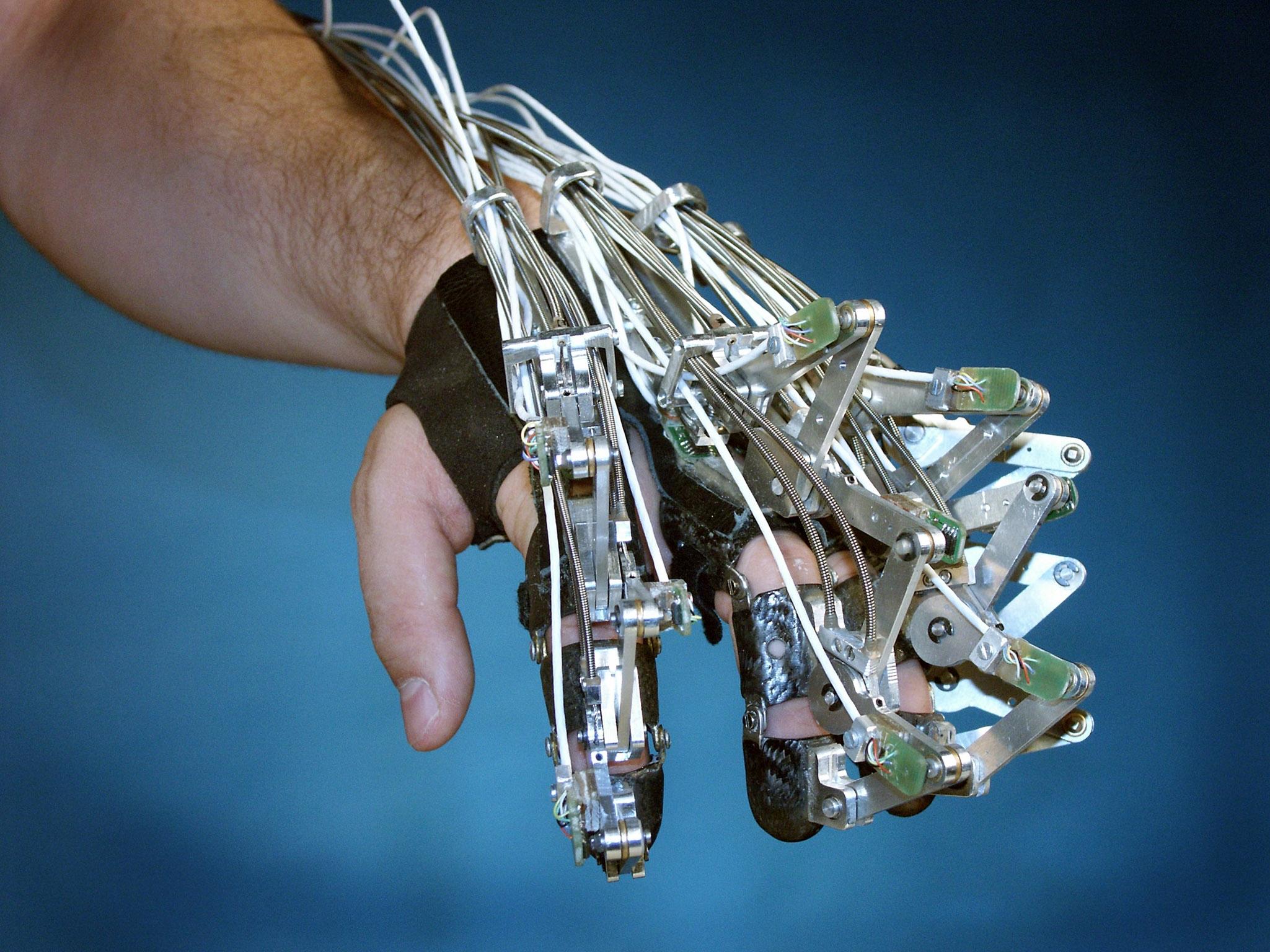 Exoskelett Hand
