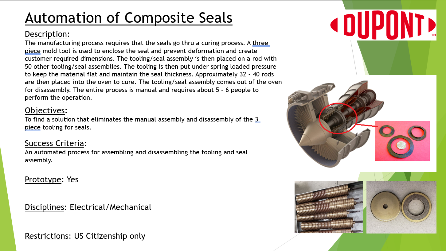 Automation of Composite O-Rings
