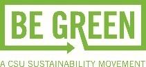 CSU Be Green Sustainability Movement Logo