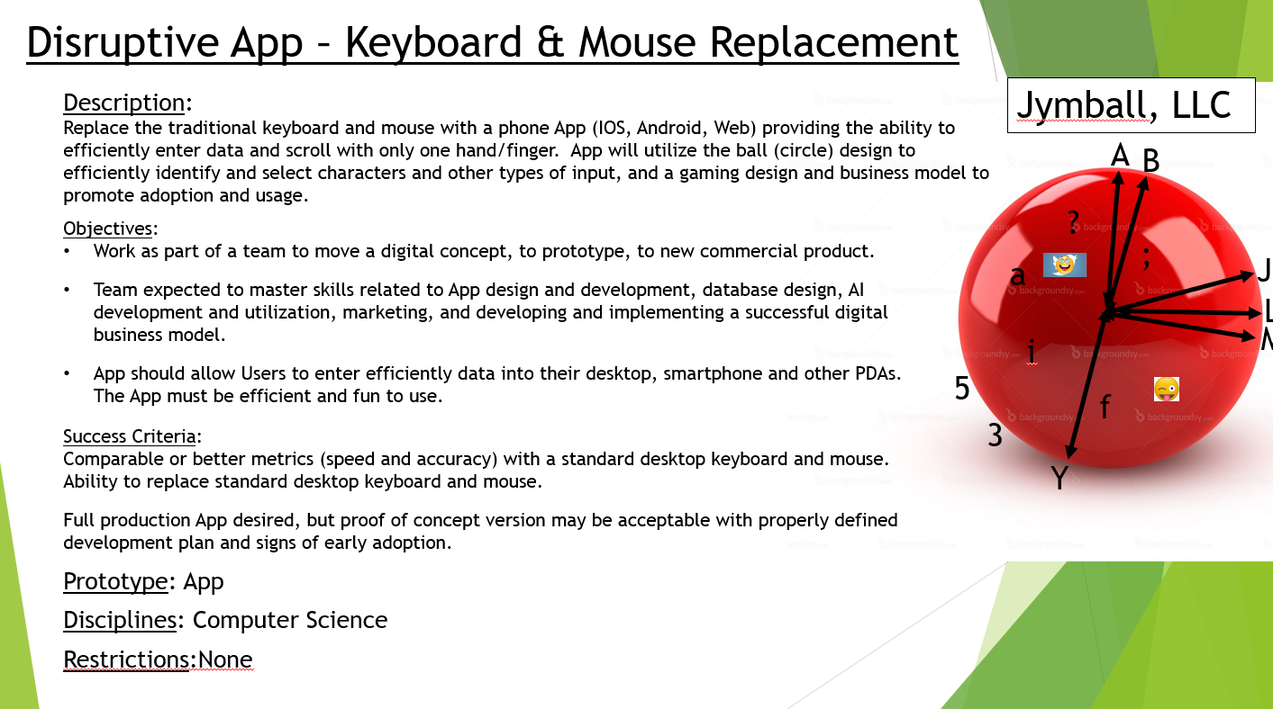 Disruptive App – Keyboard & Mouse Replacement