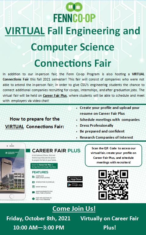 Virtual Student Info Flyer