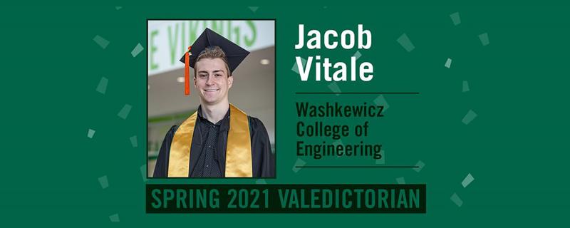 Jacob Vitale 2021 Valedictorian