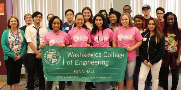 Fenn Academy Class Visit Cleveland State University