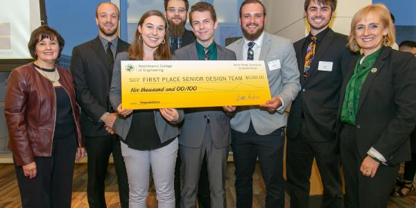 2019 1st Place Senior Design Winners