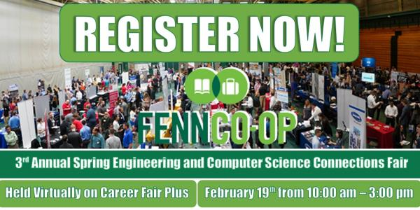 Register Now! - Spring 2021 Engineering and Computer Science Connections Fair
