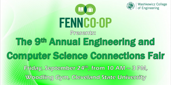 Engineering and Computer Science Connections Fair Registration Graphic
