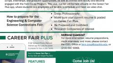 Engineering and Computer Science Connection fair Flyer
